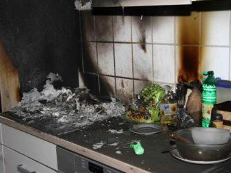Устранение запаха гари после пожара