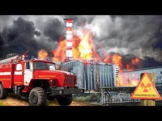 Как тушили пожар на Чернобыльской АЭС?
