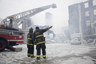 Тушение пожаров в сложных климатических условиях