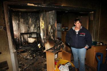 Можно ли жить в квартире после пожара?