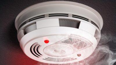 Как работает датчик пожарной сигнализации?