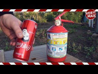 Сколько атмосфер выдерживает огнетушитель?